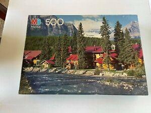 Milton Bradley Croxley Puzzle  Banff National Park Alberta, Canada 500 Pieces