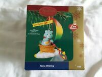 Heirloom Ornament Collection Care Bears Gone Fishing  #108