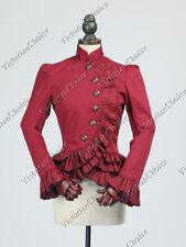 Victorian Edwardian Blazer Riding Jacket Coat Steampunk Halloween Costume C032