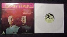 1979 Star Trek LP VG+/VG+ Reissue Peter Pan Records 8168 Dinky Toys Insert