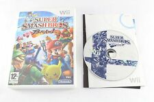 Nintendo Wii juego Super Smash Bros Brawl PAL sin manual