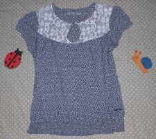✿❀ Haut top blouse broderies femme/fille ✿❀ TEDDY SMITH ✿❀ Taille 16 ans XS