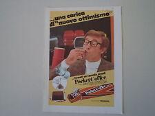 advertising Pubblicità 1970 FERRERO POCKET COFFEE