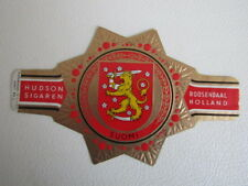 Hudson  Shields ~ Coats of Arms Serie c-1 Large Cigar Band (197)