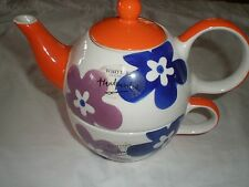 WHITTARD TEA POT AND MATCHING CUP