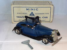 TRIANG MINIC TINPLATE TRAFFIC CONTROL CAR  - 29M