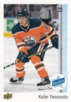 KAILER YAMAMOTO NO:56 ROOKIE in UPPER DECK COLLECTOR CARE 2017-18    a