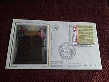 Enveloppe Premier Jour Soie 1989 Bicentenaire de la Révolution First Day Cover 3