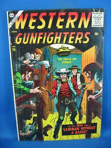 WESTERN GUNFIGHTERS 26 VG+ 1957 ATLAS