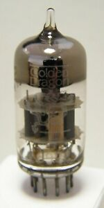 Golden Dragon 6922 Made in USA ECC88 6DJ8 double triode valve