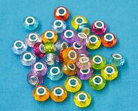 Lot 10 pieces Charms bracelet Europeen Perle 14mm pour votre creation bijoux
