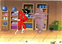 Freakazoid 1995-1997 Production Master Setup Animation Cel n Background 35