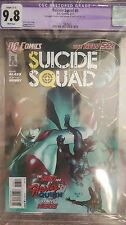 Suicide Squad #6, graded 9.8 by CGC, 1 of 6 on census! rare! Harley Quinn origin