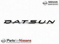 """Genuine Nissan Emblem-Side """"Datsun"""" 510 63806-21300"""