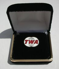 TWA Trans World Airlines Replica Logo Tac Lapel Pin Pilot Plane Flight Attendant