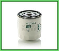 Filtro aceite MANN W 712/43 Austin, FORD, MAZDA, Morgan, Rover, Skoda