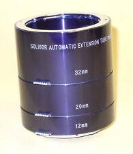 SOLIGOR Extension Tube Set for Olympus OM