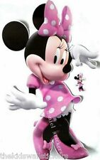 Disney Minnie Mouse Wall Room Decor Art Sticker Vinyl Birthday Gift