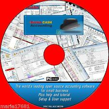 TURBOCASH ADVANCED ACCOUNTING HOME / BUSINESS PACKAGE  MULTIPLE ACCOUNTS CD NEW