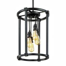 Home Decorators Collection Romaro Row 4-Light Antique Bronze Chandelier