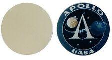 APOLLO NASA MOON ÉPUISETTE MÉTAL MARQUEUR BALLE GOLF DISQUES 25MM DIAMÈTRE