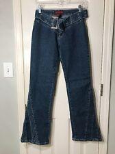 "Aroma Do Brazil Juniors Jeans/ Size 11/12/ Boot Cut 31"" Length"