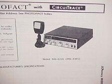 1978 JCPENNEY CB RADIO SERVICE SHOP MANUAL MODEL 981-6221 (981-8345) JC PENNEY
