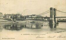 MARMANDE le pont suspendu
