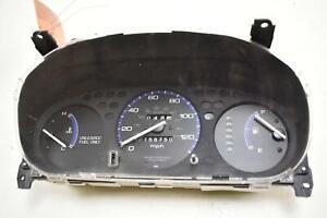 1996 - 2000 Honda Civic Speedometer Instrument Cluster MPH AT 165K