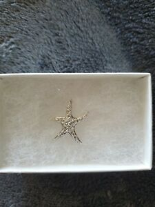 Starfish Womens 925 silver pendant
