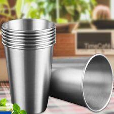 Tumbler Pint Portable Outdoor 304 Stainless Steel Beer Cup Metal Drinking Mug
