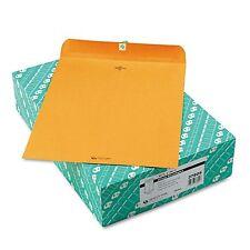 100 BUSINESS ENVELOPES 11.5x14.5 32lb Kraft Manila Shipping Catalog Yellow Clasp