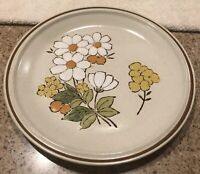 Hearthside floral expressions summertime Round Platter/Chop Plate Stoneware