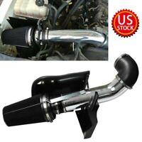 Heat Shield Replacement for 07-08 Chevrolet Silverado Tahoe 4.8L 5.3L labwork Cold Air Intake Black Tube Kit