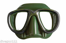 Mares Tana Mask Scuba, Dive, Snorkeling, Freediving, Spearfishing, Green