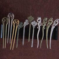 Retro Chinese Hair Sticks Long Hair Chopsticks Bun Holder DIY Hair Jewelry