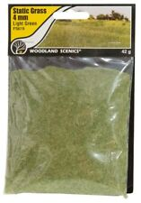 """Woodland Scenics FS619 Field System Static Grass Light Green 1/8"""" 4mm Fibers"""