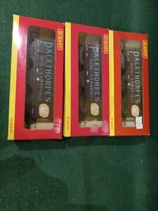 Hornby Railways 3 off 6 wheel PALETHORPES SAUSAGES mint boxed ideal Xmas present