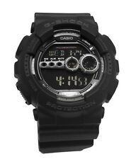 Casio GD100-1B G-Shock X-Large Black Digital  Men Watch world timer