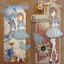 Girl Metal Cutting Dies Stencil Scrapbook Paper Card Embossing Craft Album Decor