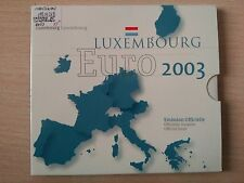 SERIE EUROS ANNÉE 2003 LUXEMBOURG ( MB10268 )