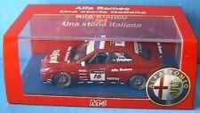 ALFA ROMEO 156 GTA #16 WTCC 2007 TIELEMANS M4 1/43 ROSSO NL