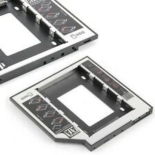 SATA 2nd HDD HD Hard Drive Caddy Case for 12.7 mm universel ordinateur portable CD/DVD-ROM FZ