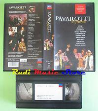 VHS LUCIANO PAVAROTTI & FRIENDS 1992 STING ZUCCHERO DALLA NEVILLE no cd mc (cl3)