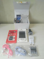 SAMSUNG GALAXY NEXT WHITE GT S5570 3 MEGAPIXEL HSPA WIFI GPS STEREO FM ANDROID