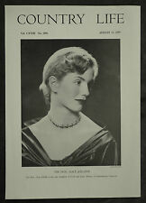 Hon Mary Alice Jolliffe Chancellor Windsor Clive 1955 1 Page Photo Article