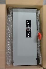 New - GE TH4323R 100 AMP 250 VOLT FUSIBLE OUTDOOR DISCONNECT