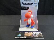 "Red Yoshi World of Nintendo white box 2.5"" figure Jakks Pacific toy figure"