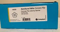 "Coloplast SenSura Mio #18530 Convex Flip Ostomy Barrier, 2-3/4""(70mm) 1BX/5EA"