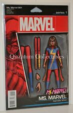 Ms Marvel #1 (John Tyler Christopher Action Figure Variant Cover) 2015 Series